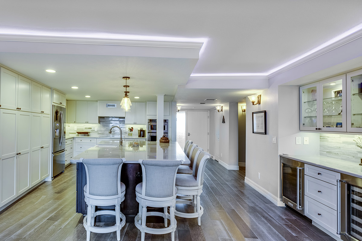 a white kitchen remodeling in st. petersburg, fl